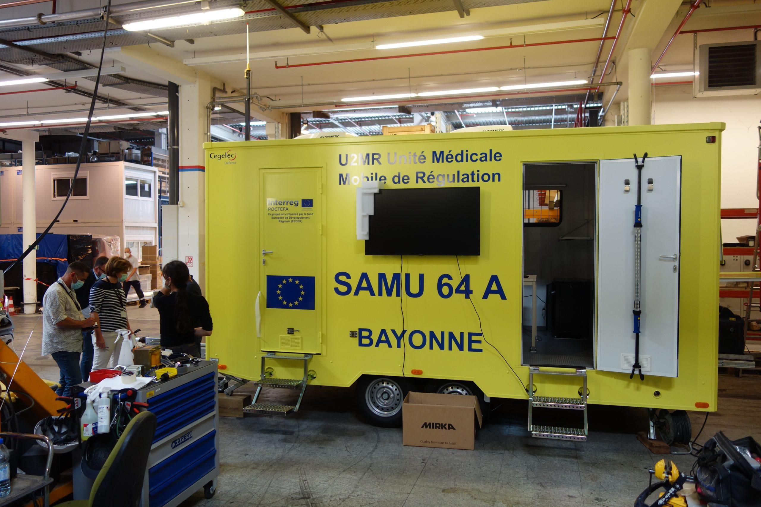 Una Unidad Móvil de Regulación Médica permitirá trasladar al lugar del suceso la coordinación sanitaria de urgencias y catástrofes